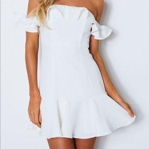 White fox Boutique Sabrina mini dress